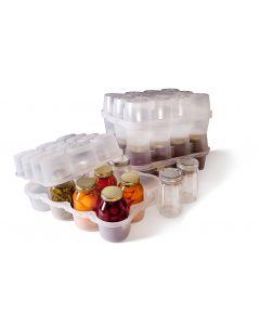 JarBOX Quart Sized Set - Canning Jar Caddy