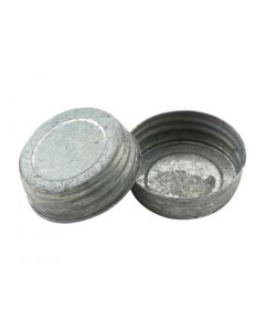 Olde Tyme Galvanized Mason Jar Lids - Fillmore Container Item number RC-G70 OTG
