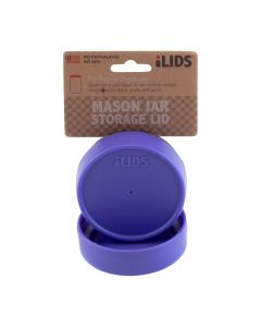 Storage Lid for Mason Jar iLID Regular Mouth - PURPLE