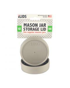 Storage Lid for Mason Jar iLid Regular Mouth - Gray