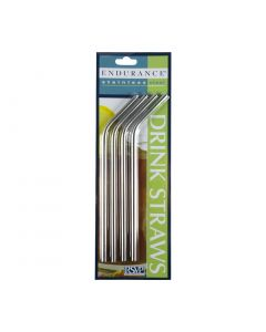 Stainless Steel Straw Endurance Pre-curved 5mm Diameter