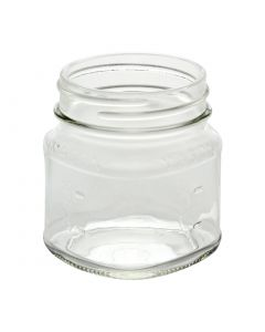 8 oz Square Mason Jar (Case of 12) - Fillmore Container