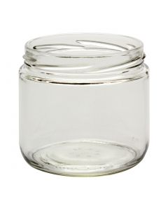 12 oz Straight-Sided Jars 82 LugC12-02W