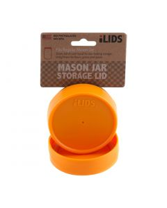 Storage Lid for Mason Jar iLid Regular Mouth OrangeIL RM Storage Orange