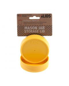 Storage Lid for Mason Jar iLid Regular Mouth YellowIL RM Storage Yellow
