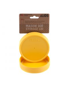 Storage Lid for Mason Jar iLid Wide Mouth YellowIL WM Storage Yellow