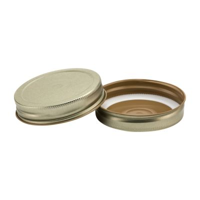 G70 CT Gold Button Home Canner Plastisol in Metal Lids