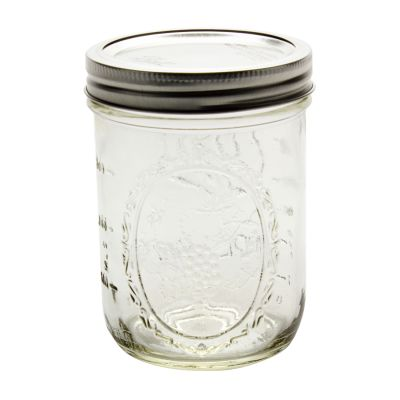 Ball 16 oz Wide Mouth w Bands & Lids Glass Jars Ball Jars