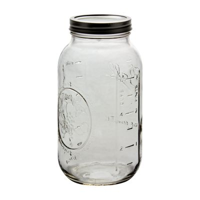 Ball Wide Mouth 64 Oz Jars With Bands Lidsj68100
