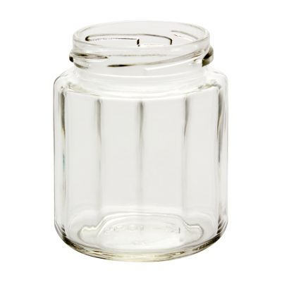 9 oz 12 sided jars 63 lug in glass jars