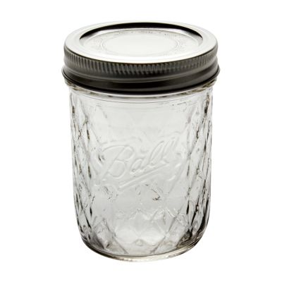 Ball Quilted Jars - 8 oz Jelly, Bands & Lids, 1440081200 ... : quilted mason jars bulk - Adamdwight.com