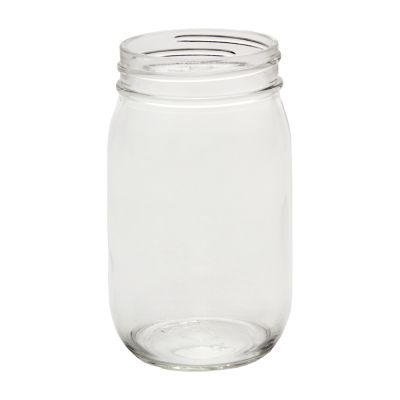 d8e000685fc Glass Pint Mason Jars - (Case of 12) - Fillmore Container