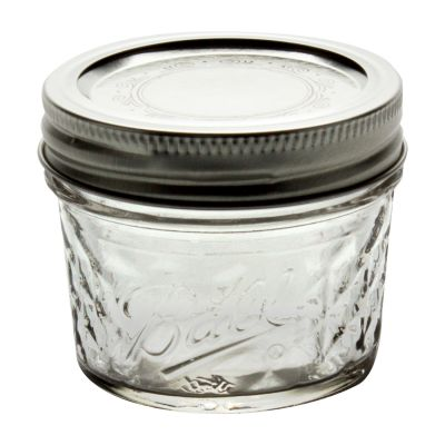 1440080400 Ball 4 Oz Quilted Crystal Jars With Bands And Lids, In Glass Jars,  Ball Jars, Home Canning