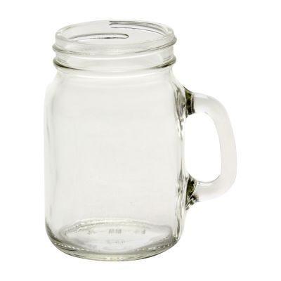 Mason Jars >> 4 Oz Small Mason Jars With Handles Mini Mugs In Glass Jars Beverage