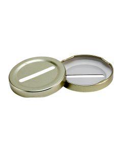 58 Lug Coin Slot Gold LidRL-058-Coin Gold