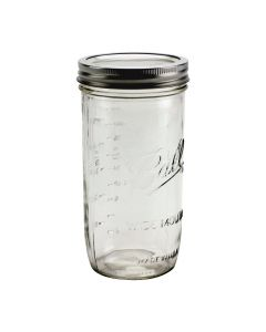 Ball Wide Mouth 24 oz Jars with Bands & Lids