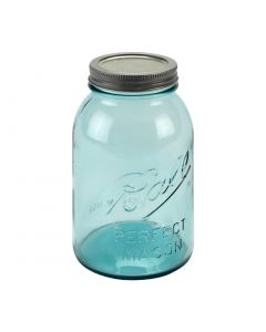 Ball Collector's Edition Quart Aqua Vintage Jars