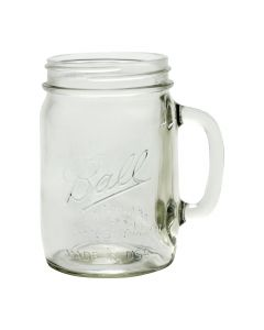 Ball 24 oz Mason Jar with Handle Wide Mouth