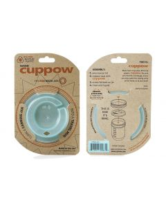 Cuppow For Wide Mouth Jar - Mint