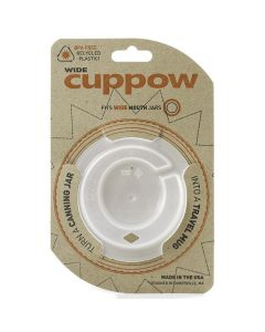 Cuppow Lids - Wide Mouth Clear