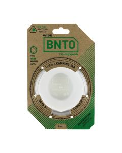 Cuppow For Wide Mouth Jars - Clear BNTO Adapter