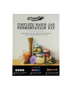 Complete Mason Jar Fermentation Kit