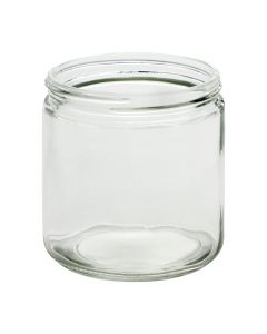 16 oz Straight-Sided Jar 89-400 Finish