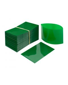 Green Heat Shrink Bands for Sauce Bottles with 38mm Finish