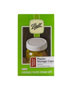 Regular Mouth Ball Plastic Storage Caps
