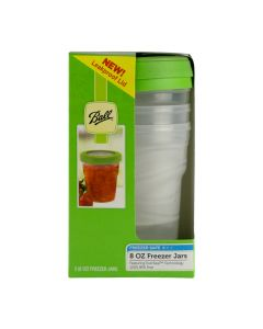 8 oz Ball Plastic Freezer Jar 3 Pack