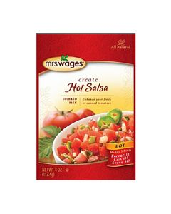 Hot Salsa Tomato Canning Mix - Mrs WagesMRSW012