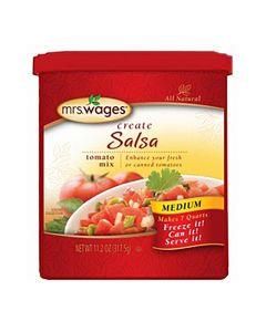 7 QT Bulk Salsa Tomato Canning Mix - Mrs WagesMRSW009
