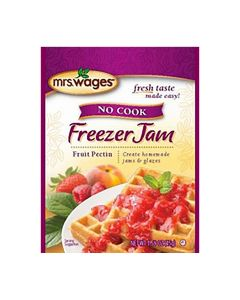 No Cook Freezer Jam Fruit Pectin - Mrs. Wages