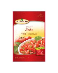 Mild Salsa Tomato Canning Mix - Mrs. Wages