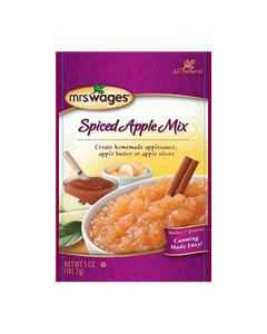 Spiced Apple Sauce Fruit Mix - Mrs WagesMRSW016