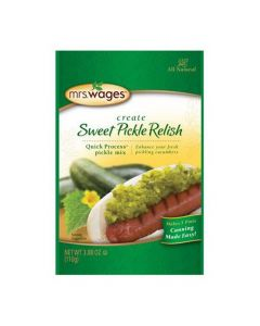 Sweet Pickle Relish Mix Mrs WagesMRSW004