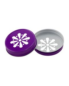 Purple Daisy Mason Lid UnlinedRC-G70 DPLU