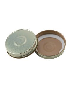 Single Piece Canning Lid G70 Gold ButtonRC-G70 G Button