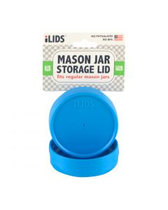 Storage Lid for Mason Jar iLid Regular Mouth Sky Blue