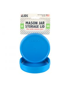 Storage Lid for Mason Jar iLid Wide Mouth - SKY BLUE
