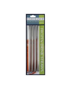 Stainless Steel Straw Straight Endurance 8mm Diameter