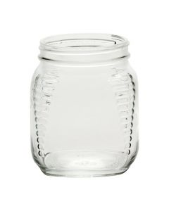 Queenline Glass Honey Jars - Wide Mouth SquareAA30-20C