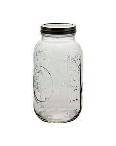 Ball Wide Mouth 64 oz Jars with Bands & LidsJ68100