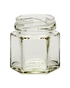 1-5 oz Hexagon Sample Jars 43 LugG02-02W