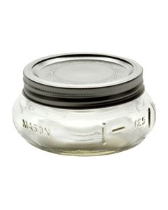 Elite Ball 8oz Wide Mouth Jars with Bands & LidsJ61162