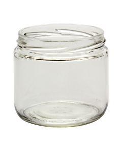 12 oz Straight-Sided Jars 82 LugC12-02W