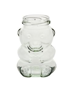 Honey Bear Jars - 9 oz Glass ContainerG09-HBW