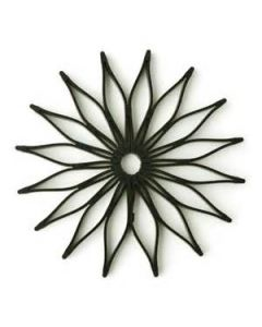 BLACK Blossom TrivetBT - BLACK