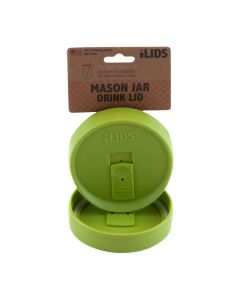 Drink Lid for Mason Jar iLid Wide Mouth Lime GreenIL WM DRK Lime Green