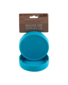 Storage Lid for Mason Jar iLid Wide Mouth  Aqua BlueIL WM Storage Aqua Blue